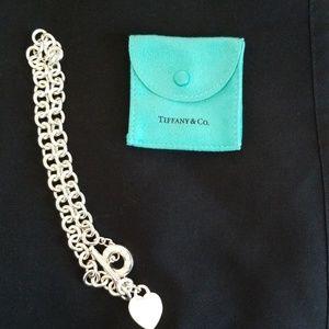 Heart tag Tiffany &Co necklace